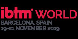 Ibtm WORLD logo
