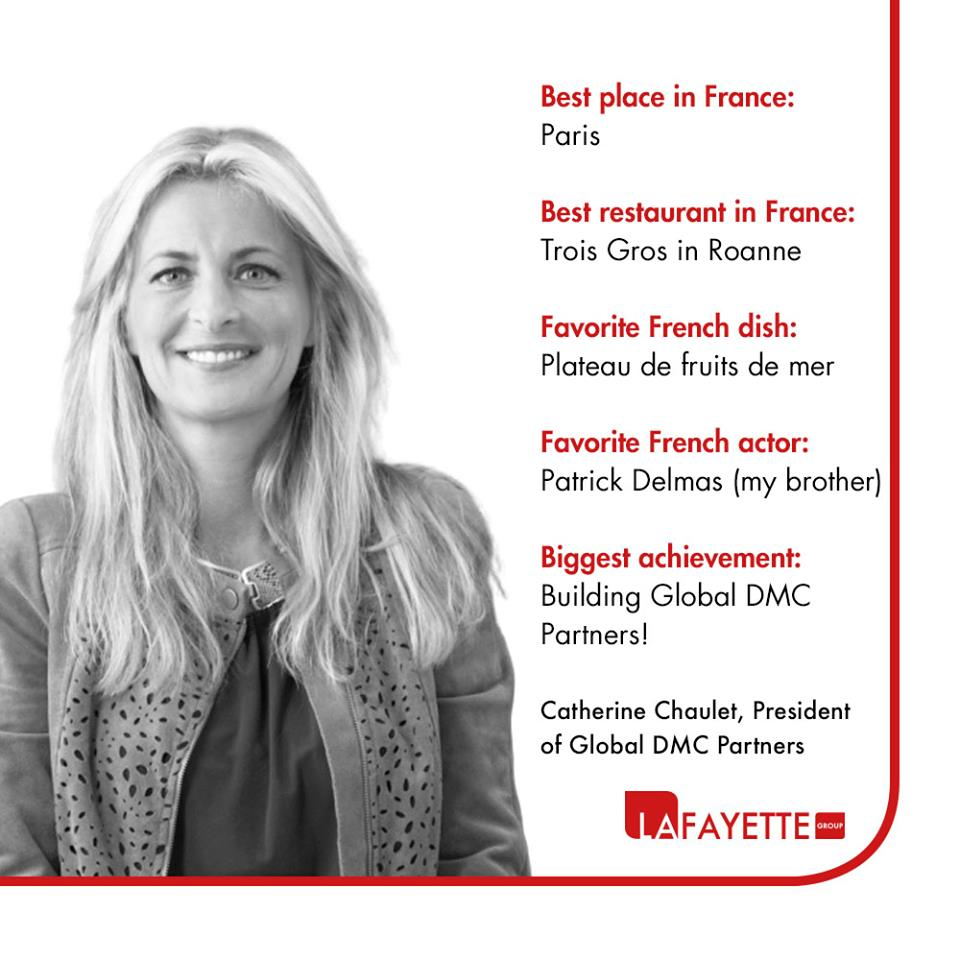 Meet Catherine Chaulet, President of Global DMC Partners